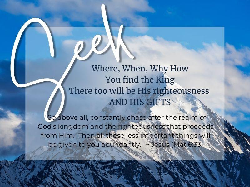 Seek Worship Service